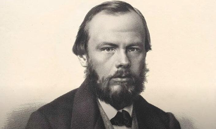 На фото поэт Федор Достоевский.