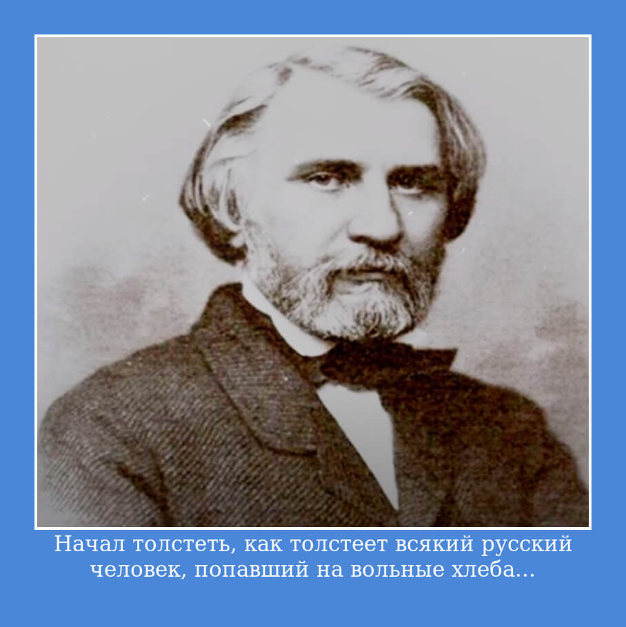 Цитата Тургенева из Отцы и дети.