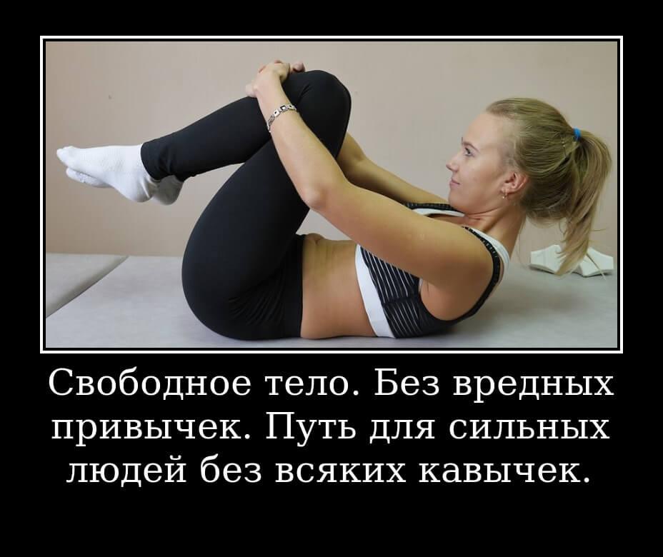 Свободное тело. Без вредных привычек. Путь для сильных людей без всяких кавычек.