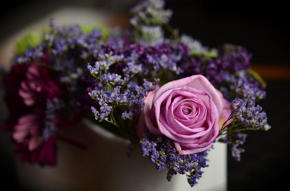 На фто изображен букет цветов.