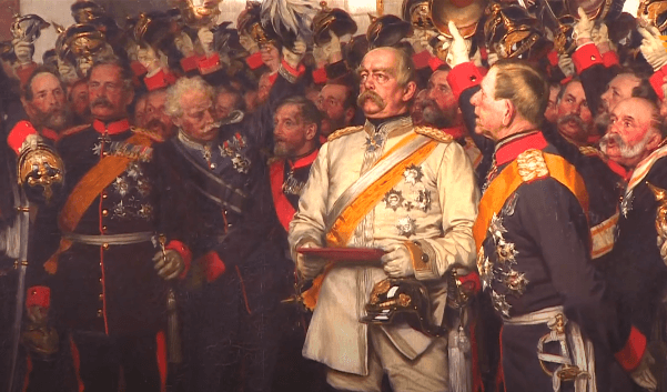 На фото изображен Отто фон Бисмарк.
