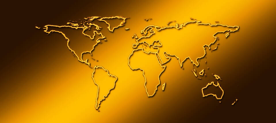 На фото изображены материки планета Земля.