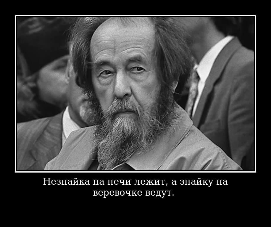 """На фото изображено высказывание Солженицына из рассказа """"Матренин двор""""."""