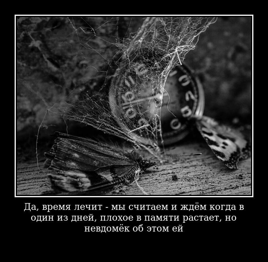 Да, время лечит» — мы считаем и ждём когда в один из дней плохое в памяти растает, но… невдомёк об этом ей...