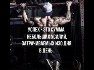 Успех - это сумма небольших усилий, затрачиваемых изо дня в день.