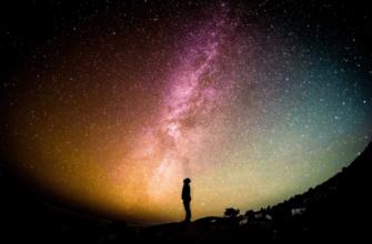 Звездное небо. Какой цитатой о звездах поделиться.